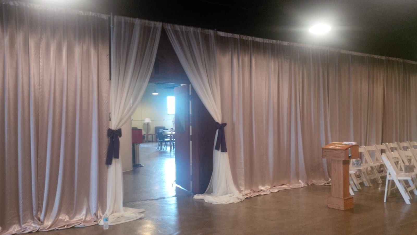 renting and using portable drapes (pipe and drape) » rsvp waco